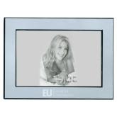Silver Two Tone 5 x 7 Horizontal Photo Frame-Primary Mark Flat Engraved