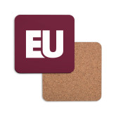 Hardboard Coaster w/Cork Backing-EU