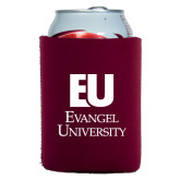 Collapsible Maroon Can Holder-Primary Mark