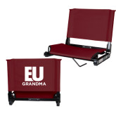 Stadium Chair Maroon-Grandma