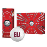 Callaway Chrome Soft Golf Balls 12/pkg-EU