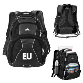 High Sierra Swerve Black Compu Backpack-EU