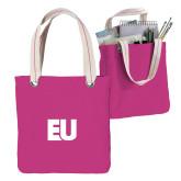 Allie Fuchsia Canvas Tote-EU