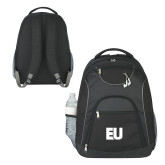 The Ultimate Black Computer Backpack-EU