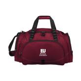 Challenger Team Maroon Sport Bag-Primary Mark
