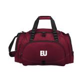Challenger Team Maroon Sport Bag-EU