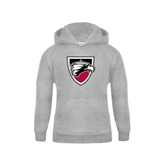 Youth Grey Fleece Hood-Shield