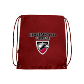 Cardinal Drawstring Backpack-Official Logo