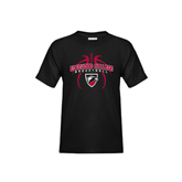 Youth Black T Shirt-Design in Basketball