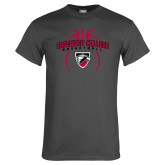 Charcoal T Shirt-Design in Basketball