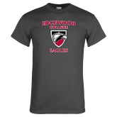 Charcoal T Shirt-Edgewood College Eagles