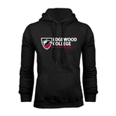 Black Fleece Hoodie-Edgewood College