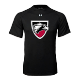 Under Armour Black Tech Tee-Shield
