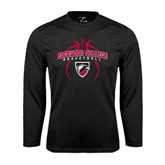 Syntrel Performance Black Longsleeve Shirt-Design in Basketball