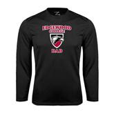 Performance Black Longsleeve Shirt-Dad