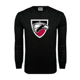 Black Long Sleeve TShirt-Shield
