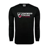 Black Long Sleeve TShirt-Edgewood College
