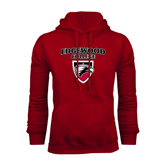Cardinal Fleece Hoodie-Official Logo