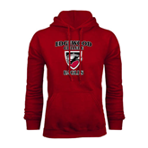 Cardinal Fleece Hoodie-Edgewood College Eagles