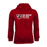 Cardinal Fleece Hoodie-Edgewood College