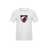 Youth White T Shirt-Shield