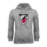 Grey Fleece Hoodie-Shield