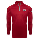 Under Armour Cardinal Tech 1/4 Zip Performance Shirt-Shield