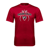 Syntrel Performance Cardinal Tee-Design in Basketball