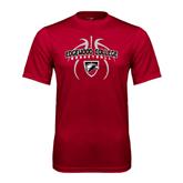 Performance Cardinal Tee-Design in Basketball