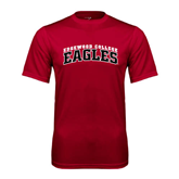Performance Cardinal Tee-Arched Edgewood College Eagles