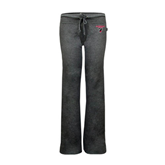 ENZA Ladies Dark Heather Fleece Pant-Official Logo