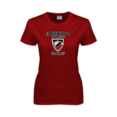 Ladies Cardinal T Shirt-Edgewood College Eagles