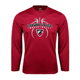 Syntrel Performance Cardinal Longsleeve Shirt-Design in Basketball