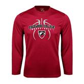 Performance Cardinal Longsleeve Shirt-Design in Basketball