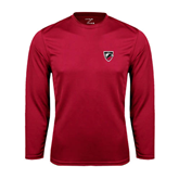 Syntrel Performance Cardinal Longsleeve Shirt-Shield