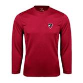 Performance Cardinal Longsleeve Shirt-Shield