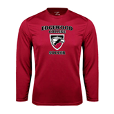 Syntrel Performance Cardinal Longsleeve Shirt-Soccer
