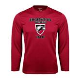 Performance Cardinal Longsleeve Shirt-Dad