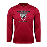 Syntrel Performance Cardinal Longsleeve Shirt-Volleyball
