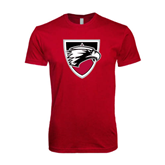 Next Level SoftStyle Cardinal T Shirt-Shield