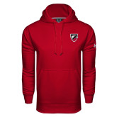 Under Armour Cardinal Performance Sweats Team Hoodie-Shield