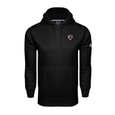 Under Armour Black Performance Sweats Team Hoodie-Shield