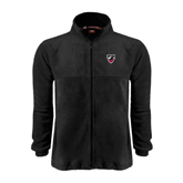 Fleece Full Zip Black Jacket-Shield