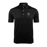 Black Dry Mesh Polo-Shield