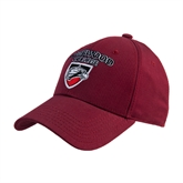Cardinal Heavyweight Twill Pro Style Hat-Official Logo