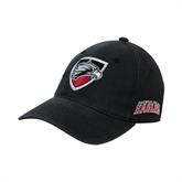 Black OttoFlex Unstructured Low Profile Hat-Shield