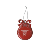Red Bulb Ornament-Official Logo Engraved