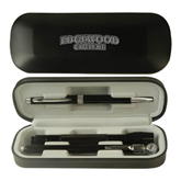 Black Roadster Gift Set-Arched Edgewood College Engraved