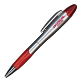 Silver/Red Blossom Pen/Highlighter-Arched Edgewood College