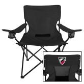 Deluxe Black Captains Chair-Shield